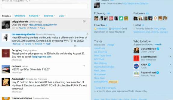 new timeline Twitter