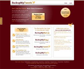 backup-mytweets