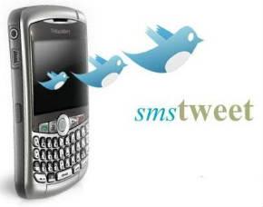 Twitter via SMS